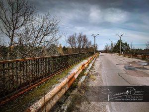Il ponte della morte di Chernobyl a Pripyat